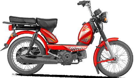 TVS XL100 Moped